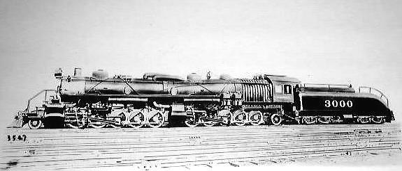 Dampf Lokomotiven In Usa Der Big Boy U A